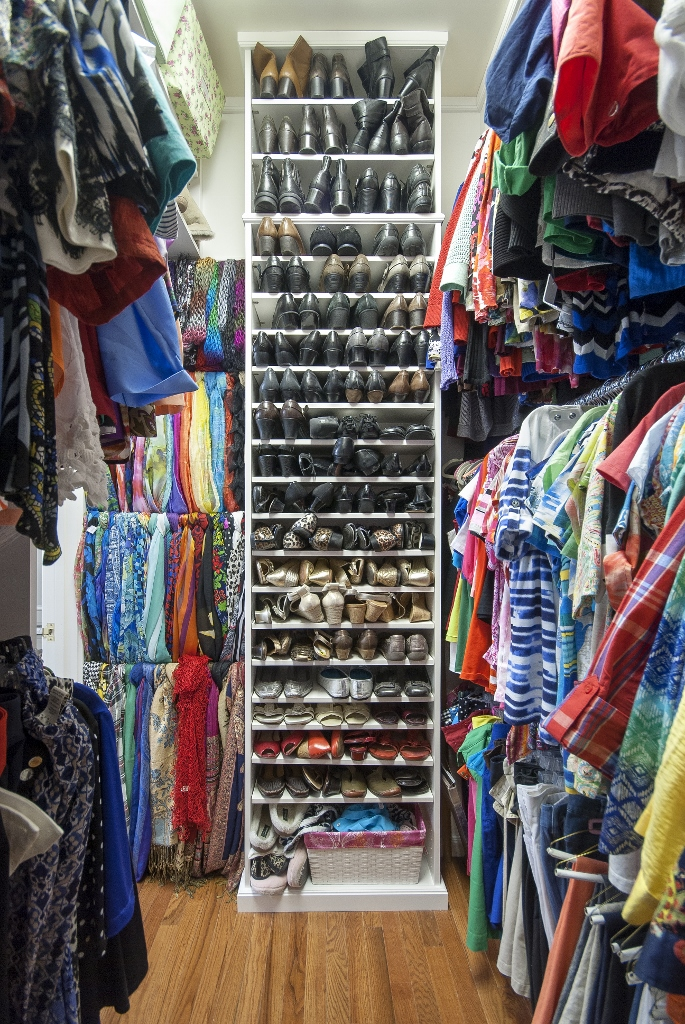 Shoe and Scarf storage