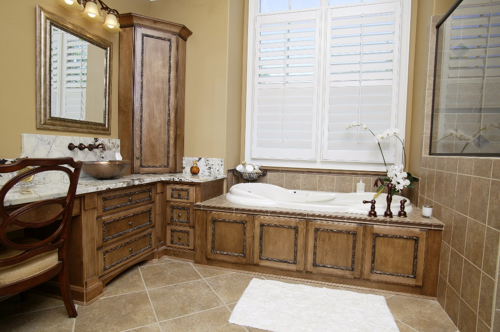 Tub Surround With Hidden Access Panel Custom Wooden