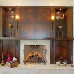 Veneer fireplace surround beautiful