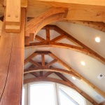 Wooden Arched Ceiling