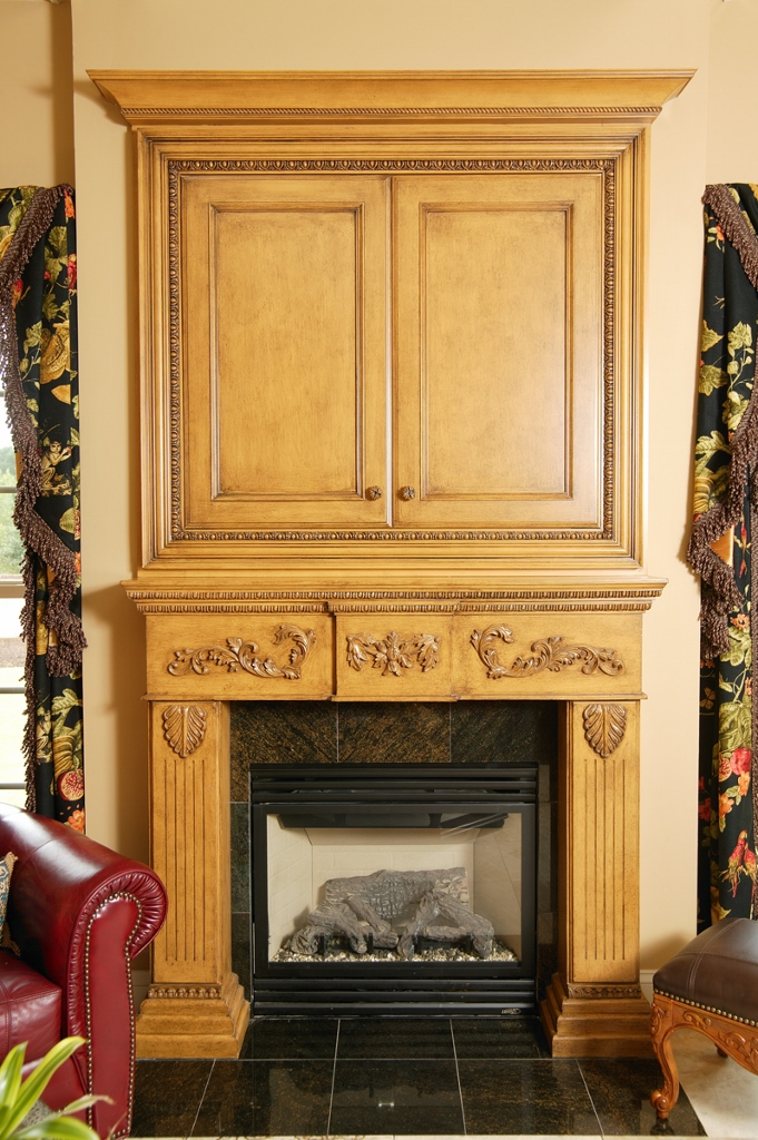 fire place tv cabinet