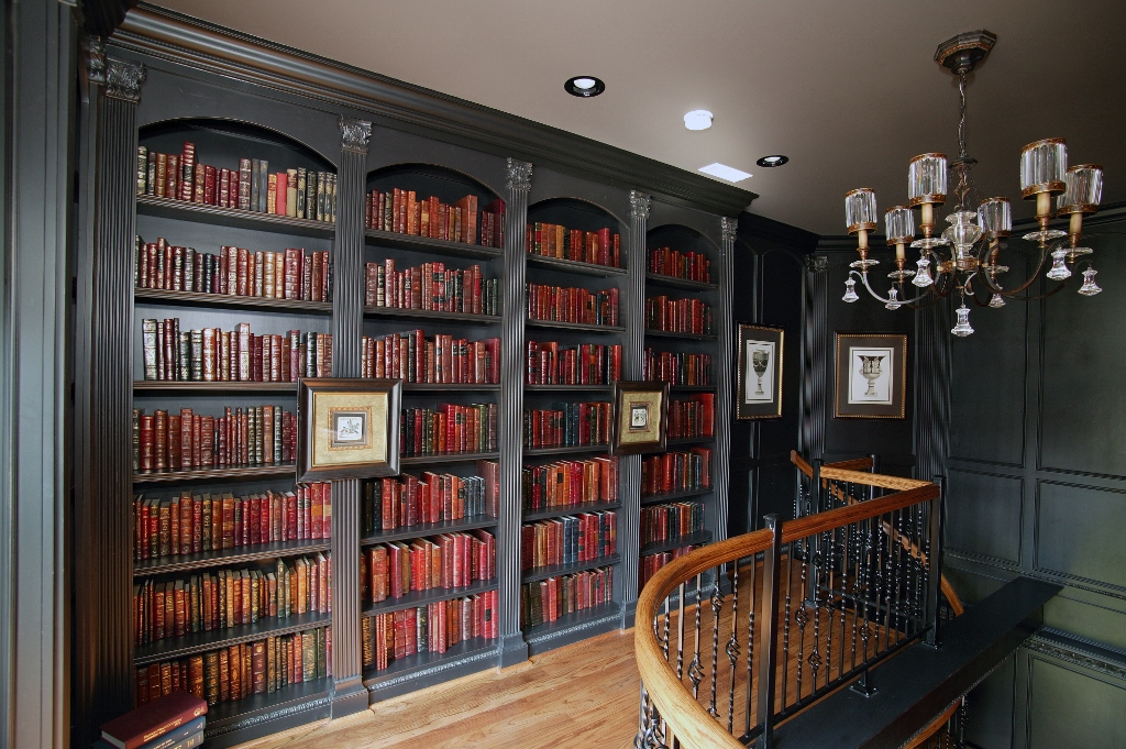 Library Floor To Ceiling Shelves