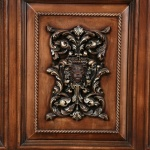 lion molding panel applique