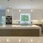 perfection kitchen white sleek finish